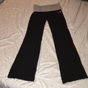 PINK Victoria's Secret Sequins Banded Pants
